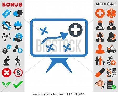 Health Strategy Icon