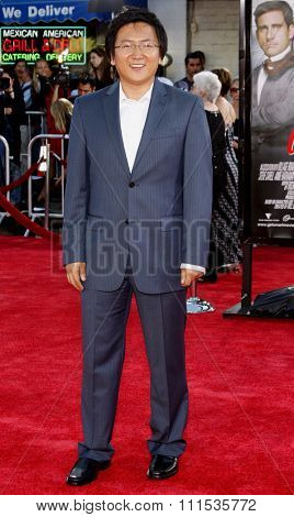 Masi Oka at the Los Angeles premiere of 'Get Smart' held at the Mann Village Theatre in Westwood on June 16, 2008.