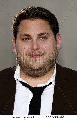 Jonah Hill at the Los Angeles premiere of 'Funny People' held at the ArcLight Cinemas in Hollywood on July 20, 2009.