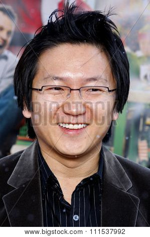 Masi Oka at the Los Angeles premiere of 'Fred Clause' held at the Grauman's Chinese Theater in Hollywood on November 3, 2007.