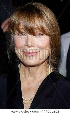 Sissy Spacek at the Los Angeles premiere of Four Christmases held at the Grauman's Chinese Theater in Hollywood on November 20, 2008.