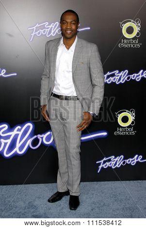 Ser'Darius Blain at the Los Angeles premiere of 'Footloose' held at the Regency Village Theatre in Westwood on October 3, 2011.
