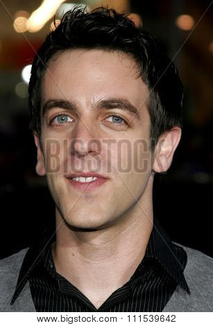 B.J. Novak attends the Los Angeles Premiere of