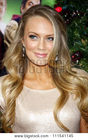 Melissa Ordway at the Los Angeles premiere of 'A Very Harold & Kumar 3D Christmas' held at the Grauman's Chinese Theater in Hollywood on November 2, 2011.