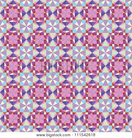 Vector multicolor kaleidoscopic background.