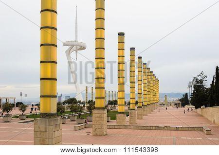 Olympic Park Montjuic