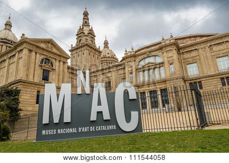 The Museum Nacional d'Art de Catalunya