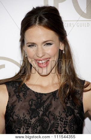 Jennifer Garner at the 24th Annual Producers Guild Awards held at the Beverly Hilton Hotel in Beverly Hills, USA on January 26, 2013.
