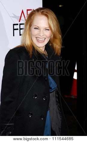 Marg Helgenberger at the AFI FEST 2009 Screening of 'The Road' held at the Grauman's Chinese Theater in Hollywood, USA on November 4, 2009.