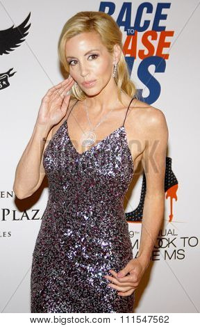 Camille Grammer at the 19th Annual Race To Erase MS held at the Hyatt Regency Century Plaza in Century City, USA on May 18, 2012.