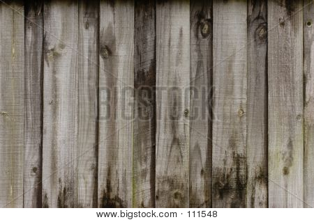 Rustic Wooden Fence Background
