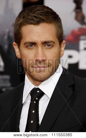 Jake Gyllenhaal at the Los Angeles premiere of 'Prince Of Persia: The Sands Of Time' held at the  Grauman's Chinese Theatre in Hollywood, USA on May 17, 2010.