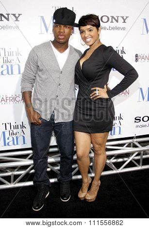 Ne-Yo at the Los Angles premiere of 'Think Like a Man' held at the ArcLight Cinemas in Hollywood, USA on February 9, 2012.