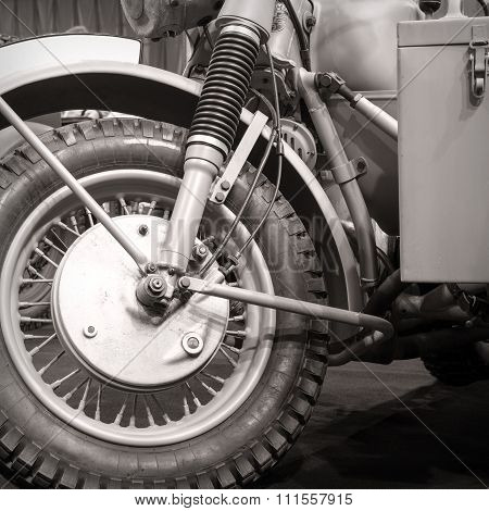 Front Wheel Motorcycle