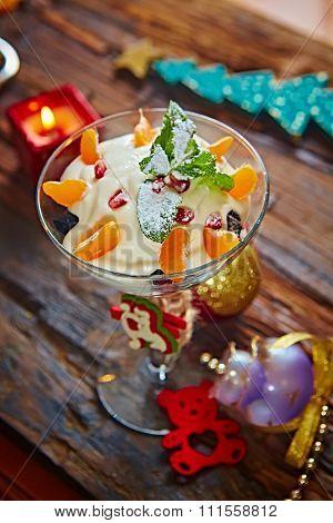Delicious mandarin orange dessert