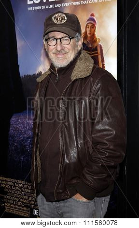 HOLLYWOOD, CA - DECEMBER 07, 2009: Steven Spielberg at the Los Angeles premiere of 'The Lovely Bones' held at the Grauman's Chinese Theater in Hollywood, USA on December 7, 2009.
