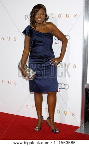 HOLLYWOOD, CA - NOVEMBER 01, 2009. Star Jones at the AFI FEST 2009 Screening of 'Precious' held at the Grauman's Chinese Theater in Hollywood, USA on November 1, 2009.