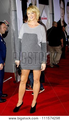 HOLLYWOOD, CA - NOVEMBER 09, 2009: Jenna Elfman at the World premiere of 'Old Dogs' held at the El Capitan Theater in Hollywood, USA on November 9, 2009.