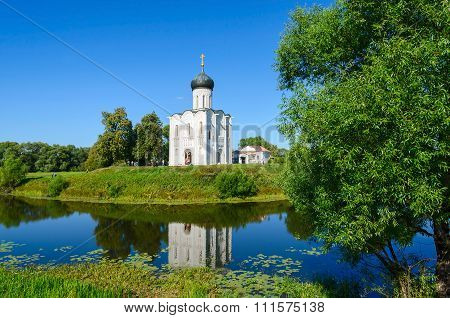 Church Of The Intercession On The Nerl Near The Village Bogolubovo, Vladimir Region, Russia
