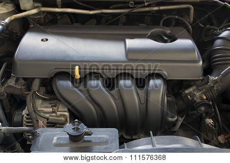Engine Car Automobile Auto Motor Mechanic Concept