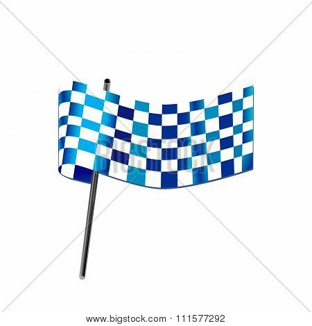 Blue Checkered Flag Racing