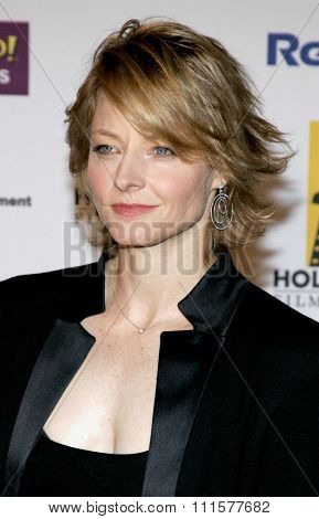 BEVERLY HILLS, CA - OCTOBER 24, 2005: Jodie Foster at the 2005 Hollywood Film Festival Awards Gala Ceremony held at the Beverly Hilton Hotel in Beverly Hills, USA on October 24, 2005.