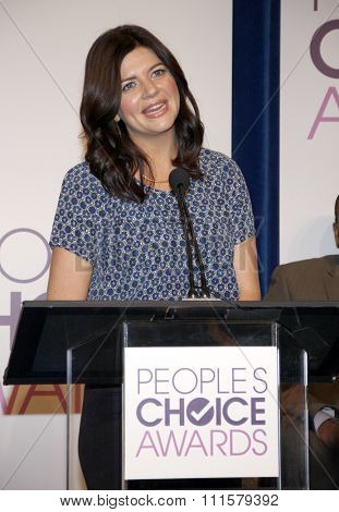 BEVERLY HILLS, CA - NOVEMBER 15, 2012: Casey Wilson at the People's Choice Awards 2013 Nominations held at the Paley Center in Beverly Hills, USA on November 15, 2012.