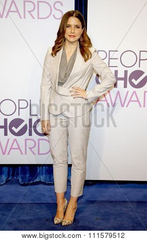 BEVERLY HILLS, CA - NOVEMBER 15, 2012: Sophia Bush at the People's Choice Awards 2013 Nominations held at the Paley Center in Beverly Hills, USA on November 15, 2012.