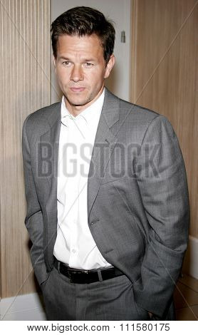 BEVERLY HILLS, CA - NOVEMBER 20, 2006: Mark Wahlberg at the 2006 Los Angeles Free Clinic Annual Dinner Gala held at the Beverly Hilton Hotel in Beverly Hills, USA on November 20, 2006.