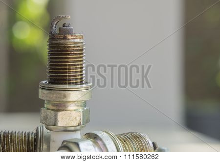 Spark Plug Plug Combusion Part Mechanical Concept