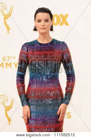 LOS ANGELES, CA - SEPTEMBER 20, 2015: Jaimie Alexander at the 67th Annual Primetime Emmy Awards held at the Microsoft Theater in Los Angeles, USA on September 20, 2015.