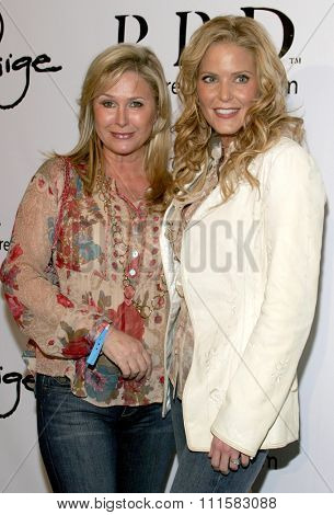 November 17, 2005 - Beverly Hills - Kathy Hilton and Paige Adams-Geller at the Paige Premium Denim Party at the Paige Premium Denim Flagship Store in Beverly Hills, California United States.