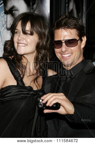 HOLLYWOOD, CA - MAY 04, 2006: Tom Cruise and Katie Holmes at the Los Angeles premiere of 'Mission: Impossible 3' held at the Grauman's Chinese Theatre in Hollywood, USA on May 4, 2006.