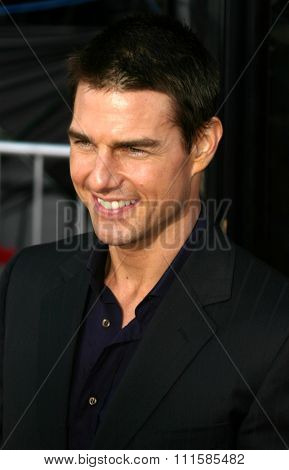 2 August 2004 - Los Angeles, California - Tom Cruise. The World Premiere of 'Collateral' at the Orpheum Theatre in downtown Los Angeles.