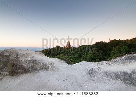 Place leisure travel, Doi Inthanon national park of Thailand