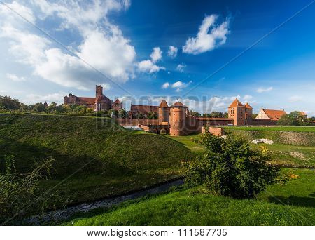 Teutonic Knights In Malbork Castle
