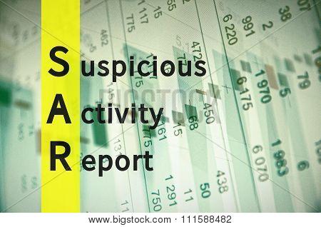 Suspicious Activity Report