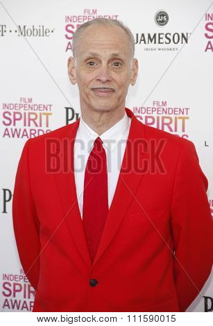 John Waters at the 2013 Film Independent Spirit Awards held at the Santa Monica Beach in Los Angeles, United States on February 23, 2013.