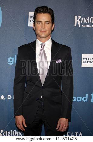 Matt Bomer at the 24th Annual GLAAD Media Awards held at the JW Marriott Los Angeles at L.A. LIVE in Los Angeles, USA on April 20, 2013.