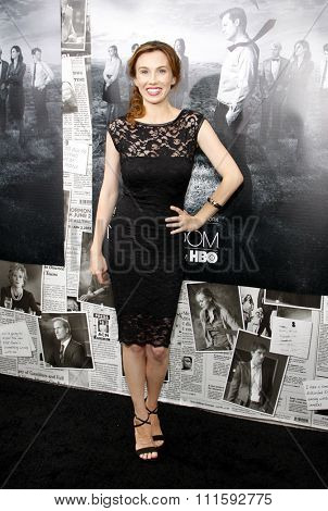 Wynn Everett at the HBO's Season 2 Premiere Of