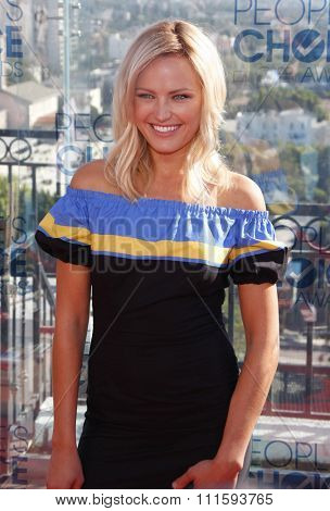 Malin Akerman at the People's Choice Awards Press Conference held at the London Hotel in West Hollywood, California, United States on November 9, 2010.