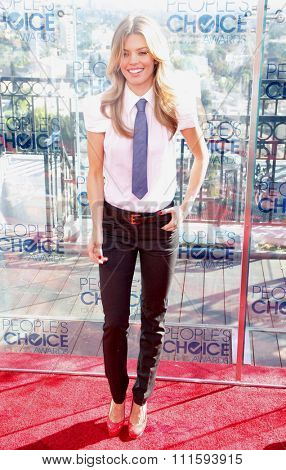 AnnaLynne McCord at the People's Choice Awards Press Conference held at the London Hotel in West Hollywood, USA on November 9, 2010.
