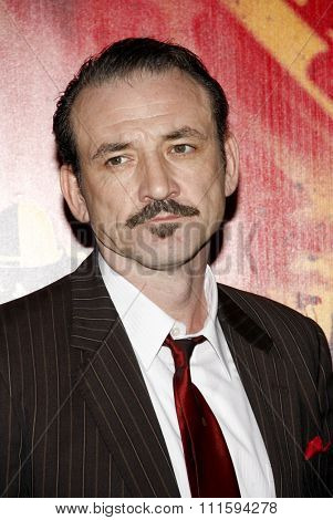 Ritchie Coster at the Los Angeles premiere of HBO's