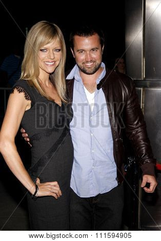 Kaitlin Olson and Rob McElhenney at the Los Angeles premiere of FX's 'It's Always Sunny In Philadelphia' held at the ArcLight Cinemas in Hollywood, USA on September 13, 2011.