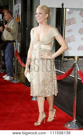 Brittany Snow at the Los Angeles premiere of 'John Tucker Must Die' held at the Grauman's Chinese Theater in Hollywood, USA on July 25, 2006.