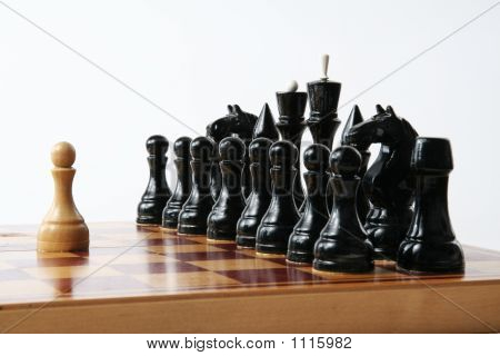 Chess Concept - Strong Individual