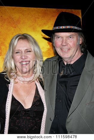 Neil Young attends the Los Angeles Premiere of