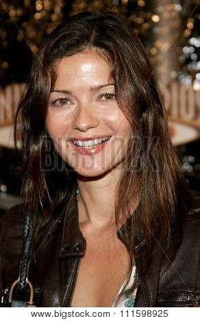 October 17, 2005. Jill Hennessy at the Los Angeles Premiere of