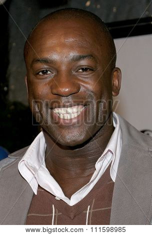 HOLLYWOOD, CALIFORNIA. October 17, 2005. Deobia Oparei at the Los Angeles Premiere of