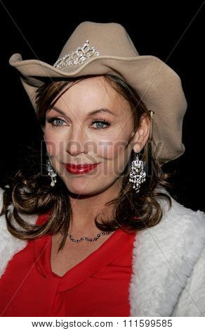 November 27, 2005 - Hollywood - Lesley-Anne Down at the 2005 Hollywood Christmas Parade at the Hollywood Roosevelt Hotel in Hollywood, CA. USA.